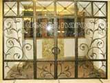 Смотреть эскизы сварных решеток на окна